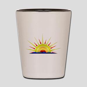 Sunny Shot Glass