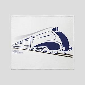 LNER A4 Mallard Throw Blanket