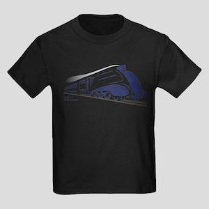 LNER A4 Mallard Kids Dark T-Shirt
