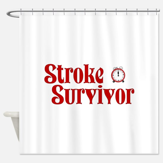 Stroke Survivor Shower Curtain