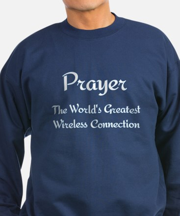 Prayer - World's Greatest Wir Sweatshirt (dark)
