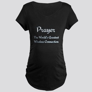 Prayer - World's Greatest Wir Maternity Dark T-Shi