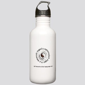 Happy Pagan Cafe Stainless Water Bottle 1.0L