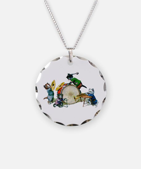 Jazz Cats Necklace