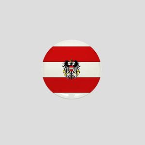 Austrian National Flag Mini Button