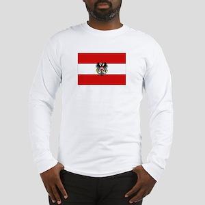 Austrian National Flag Long Sleeve T-Shirt