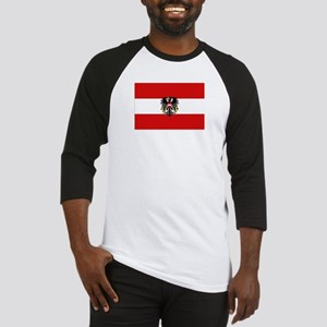Austrian National Flag Baseball Jersey