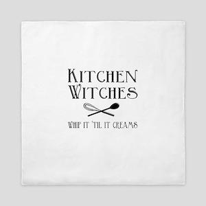 Kitchen Witches Queen Duvet