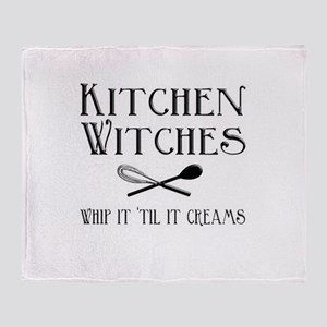 Kitchen Witches Throw Blanket