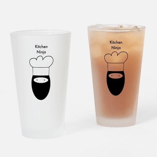 Kitchen Ninja Drinking Glass