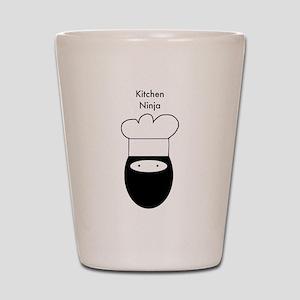 Kitchen Ninja Shot Glass