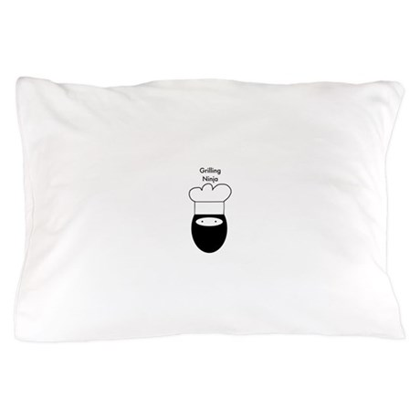 Grilling Ninja Pillow Case