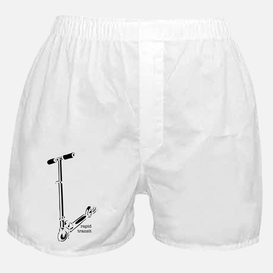 Rapid Transit - the dirt is f Boxer Shorts