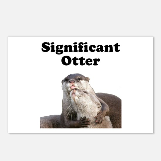 Significant Otter Postcards (Package of 8)