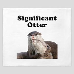 Significant Otter King Duvet