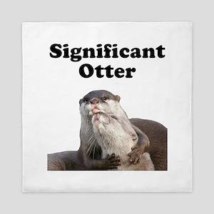 Significant Otter Queen Duvet