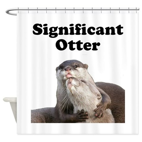 Significant Otter Shower Curtain By FunBabyClothes