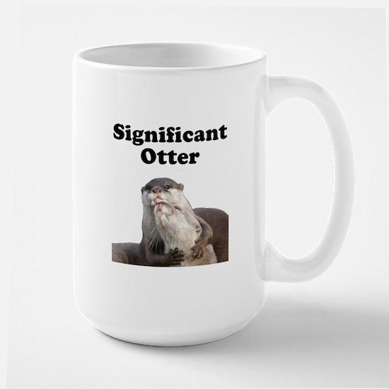 Significant Otter Large Mug
