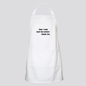 Workout Quote Apron