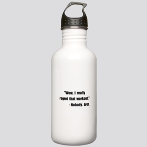 Workout Quote Stainless Water Bottle 1.0L