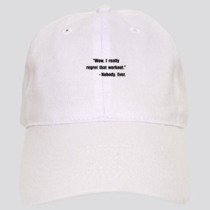 Workout Quote Cap