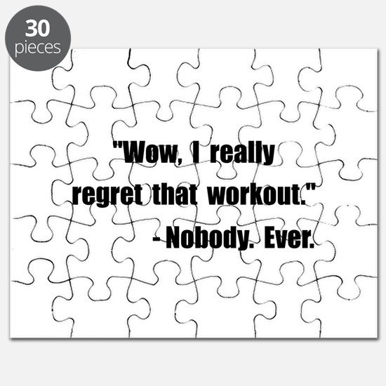 Workout Quote Puzzle