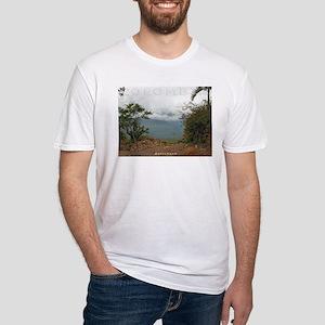 Cielo en Barichara Fitted T-Shirt