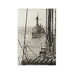 USS EVERETT F. LARSON Rectangle Magnet