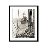 USS EVERETT F. LARSON Framed Panel Print