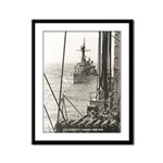 USS EVERETT F. LARSON Framed Panel Print