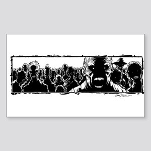 ZOMBIES!! Sticker (Rectangle)