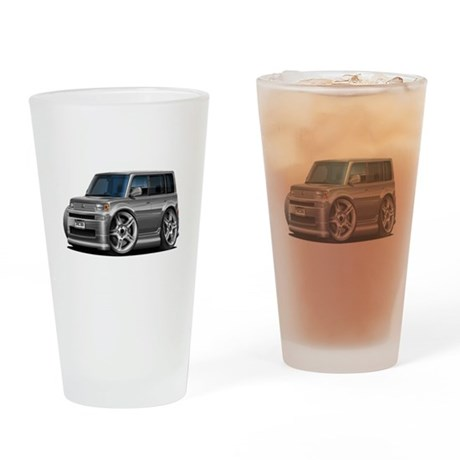 Scion XB Grey Car Drinking Glass
