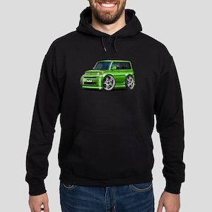 Scion XB Green Car Hoodie (dark)
