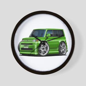 Scion XB Green Car Wall Clock