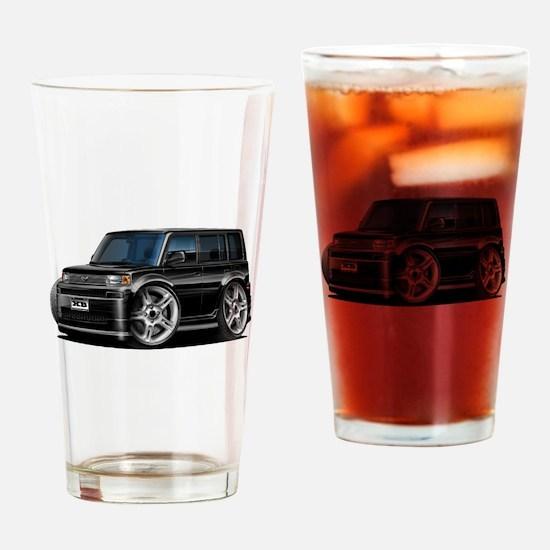 Scion XB Black Car Drinking Glass