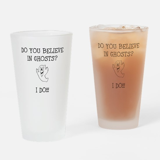 Do You Believe in Ghosts? I Drinking Glass
