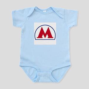 Moscow METRO Infant Creeper