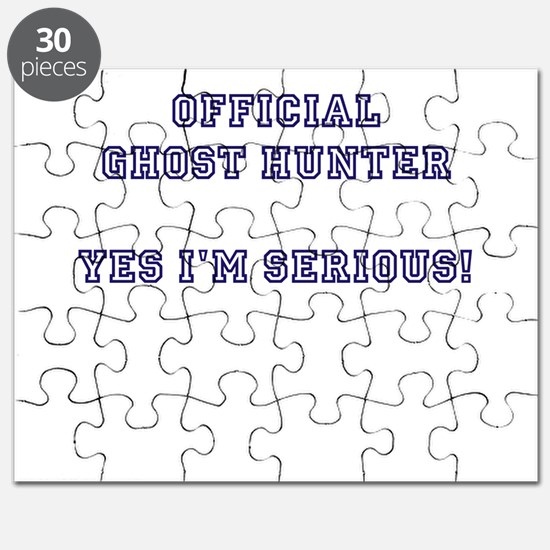 Official Ghost Hunter. Yes I Puzzle
