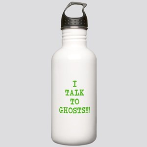 I Talk To Ghosts!!! Stainless Water Bottle 1.0L