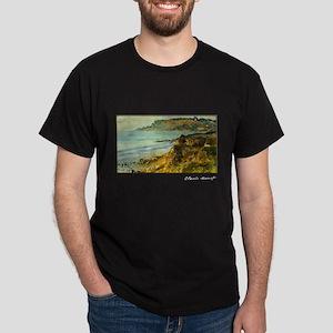 Cliff at Sainte-Adresse, Monet, Dark T-Shirt