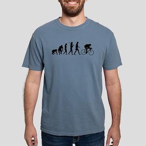 Cycling Evolution Mens Comfort Colors Shirt