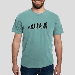 Mountain Bike Evolution Mens Comfort Colors Shirt