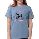 Chopper Bicycle Womens Comfort Colors Shirt