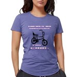 Chopper Bicycle Womens Tri-blend T-Shirt
