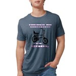Chopper Bicycle Mens Tri-blend T-Shirt