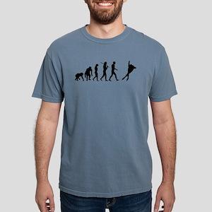 Speed Skating Mens Comfort Colors Shirt