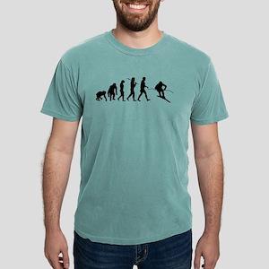 Downhill Skiing Mens Comfort Colors Shirt
