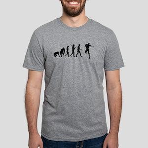 Male Dancer Mens Tri-blend T-Shirt