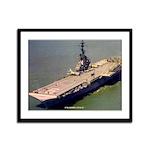 USS ESSEX Framed Panel Print