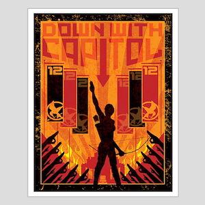 Hunger Games Propaganda Print Small Poster
